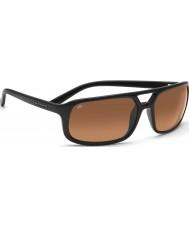 Serengeti gafas de sol brillante conductores negros gradiente Livorno