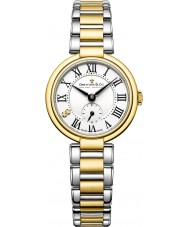 Dreyfuss and Co DLB00158-01 Señoras de la serie 1974 de dos tonos reloj de pulsera de acero