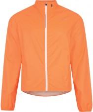 Dare2b Chaquetas impermeables anaranjadas de la neon de la afusión del Mens