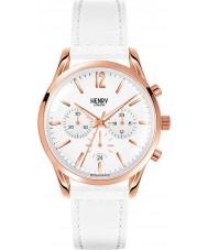 Henry London HL39-CS-0126 Damas pimlico reloj cronógrafo blanco