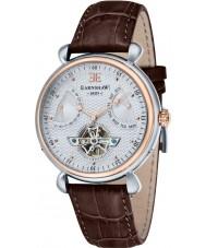 Thomas Earnshaw ES-8046-04 Reloj para hombre de la correa de cuero marrón gran calandra