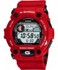 Casio G-7900A-4ER Mens G-SHOCK G-rescate reloj rojo