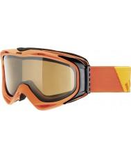 Uvex 5502143021 G.gl 300 despegar naranja - marrón Polavision gafas de esquí