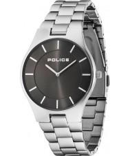 Police 14640MS-61M reloj de pulsera de acero de plata para hombre del esplendor