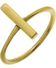 Nordahl Jewellery 125225-52 Las señoras del perno de oro Oro - Talla L