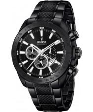Festina F16889-1 prestigio para hombre negro de acero reloj cronógrafo
