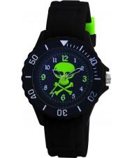 Tikkers TK0031 Cabritos del reloj de goma negro