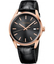 Calvin Klein K4M216C3 Mens formalidad reloj negro gris