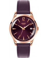 Henry London HL39-S-0080 reloj púrpura señoras de Hampstead