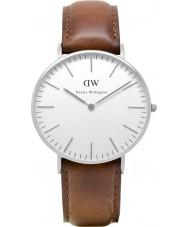 Daniel Wellington DW00100052 Las señoras reloj de plata clásico de los varones de 36 mm