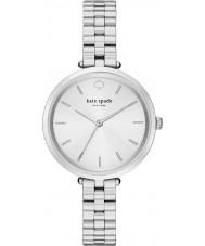 Kate Spade New York 1YRU0859 Holland damas de acero de plata reloj pulsera