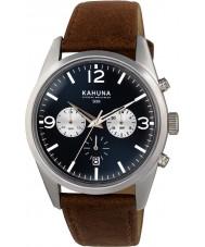 Kahuna KCS-0011G Para hombre reloj cronógrafo marrón