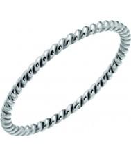 Nordahl Jewellery 125227-58 Las señoras anillo de plata espiral - tamaño q