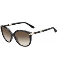 Jimmy Choo Señoras giorgy-s qcn jd gafas de sol de color gris oscuro