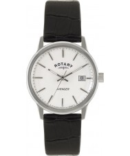 Rotary GS02874-06 relojes para hombre vengador reloj negro blanco