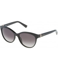 Nina Ricci Señoras snr003-700 brillantes gafas de sol negras