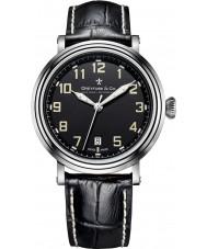 Dreyfuss and Co DGS00152-19 Reloj para hombre de la correa de cuero negro 1924