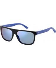 Tommy Hilfiger Mens º 1277-s FB1 23 gafas de sol azules negras
