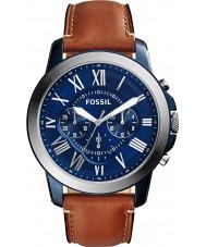 Fossil FS5151 Mens conceden reloj cronógrafo marrón