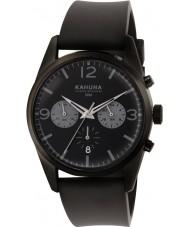 Kahuna KCS-0010G Para hombre reloj cronógrafo negro