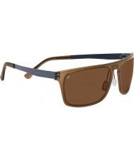 Serengeti Ferrara cristal marrón oscuro conductores phd polarizado gafas de sol