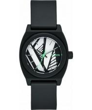 Nixon A425-2218 Damas de poca monta reloj cajero p lejía negro