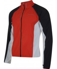 Dare2b Mens enshroud rojo ardiente windshell