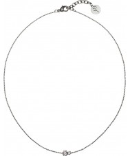 Edblad 31630127 Señoras de la corona del collar doble de acero de plata