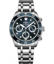 Rotary GB90170-05 Mens relojes legado reloj cronógrafo de plata