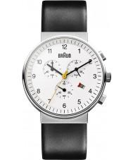 Braun BN0035WHBKG Relojes de negro reloj blanco