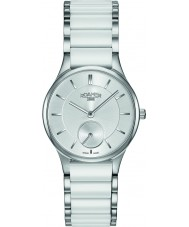 Roamer 677855-41-15-60 Damas CERALINE reloj de la pulsera de cerámica blanca
