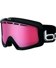 Bolle 21333 Nova II de color negro brillante - polarizado gafas de esquí Vermillon