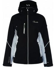 Dare2b DWP334-80010L Señoras líneas grabadas chaqueta negro - talla 10 (s)