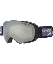 Bolle 21434 Virtuose negro y gris del iceberg - gafas de esquí de cromo negro con lente de repuesto arma de limón