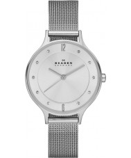 Skagen SKW2149 Anita damas reloj malla de plata