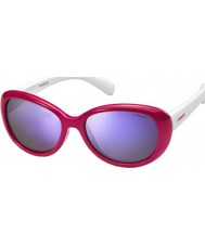 Polaroid Los niños pld8004-s T4L mf gafas de sol polarizadas rojos