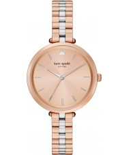 Kate Spade New York 1YRU0860 Holland damas chapado en oro rosa reloj pulsera