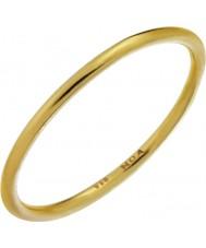 Nordahl Jewellery 125233-52 Las señoras anillo chapado en oro dorado - Talla L