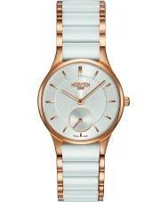 Roamer 677855-49-15-60 Damas CERALINE reloj de la pulsera de cerámica blanca