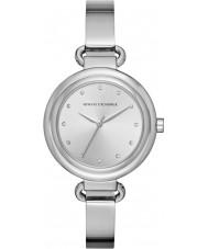 Armani Exchange AX4239 Vestido de las señoras reloj de pulsera de acero de plata