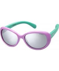Polaroid Los niños pld8004-s T5F jb lila gafas de sol polarizadas