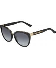 Jimmy Choo Damas dana-10e s HD gafas de sol negras