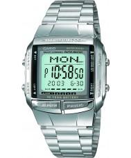 Casio DB-360N-1AEF colección para hombre pulsera de acero reloj de plata con Teleanotación