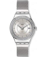 Swatch YIS406GB reloj de pulsera de acero de plata Sistem Stalac s