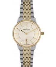 Dreyfuss and Co DLB00135-41 Las señoras 1980 de dos tonos reloj de pulsera de acero