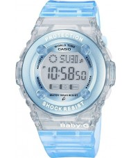 Casio BG-1302-2ER Señoras Baby-G reloj cronógrafo azul