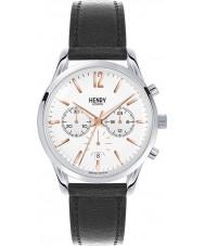 Henry London HL39-CS-0009 Highgate reloj cronógrafo negro blanco