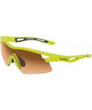 Bolle Vortex neón gafas de sol de color ámbar amarillo modulador