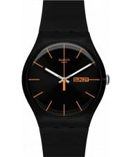 Swatch SUOB704 New Gent - reloj rebelde oscura