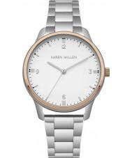 Karen Millen KM167SRGM Reloj de señoras